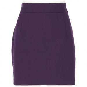 Vivienne Westwood size 42 purple pencil skirt
